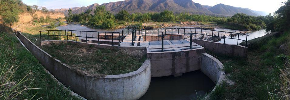 Bocatoma del Proyecto de Irrigación Cerezal - Las Juntas - Perico